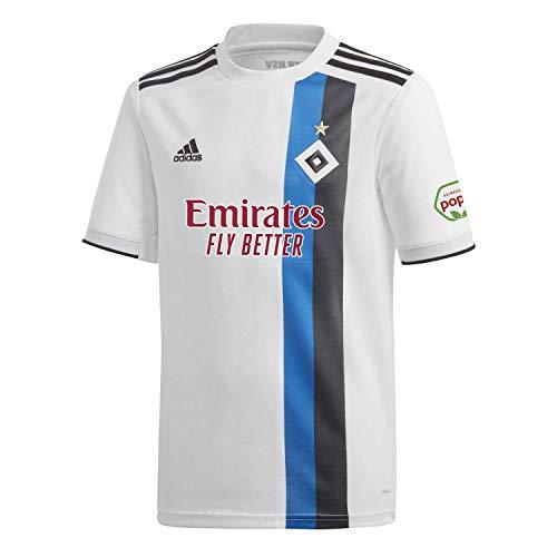 adidas Herren H WHS Trikot, White/Black/HSV Blue, M