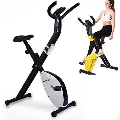 Indoor hometrainer, opvouwbare hometrainer met LCD-scherm Afvallen Fitnessapparatuur Stepper Home Gym Verstelbare stuurstoel