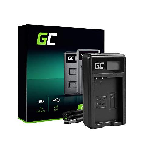 Green Cell® MH-24 Cargador para Nikon EN-EL14 Batería y D3100 D3200 D3300 D3400 D5100 D5200 D5300 D5500 D5600 Coolpix P7000 P7100 P7700 P7800 Cámaras (5W 8.4V 0.6A Negro)