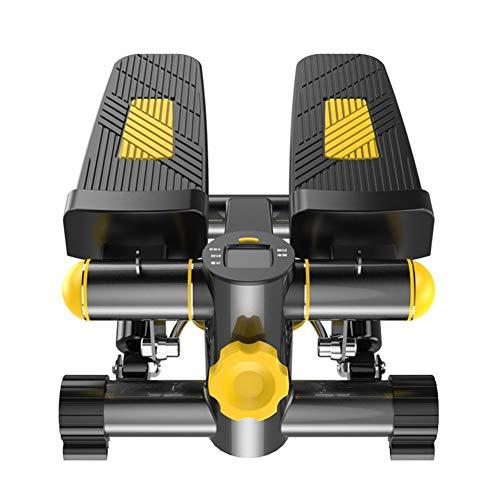 Swing-Stepper mit Expander Fitness Geräte Side Mini Stepper Zuhause Fettverbrennung Abnahmen Minibike Hometrainer bis120 kg
