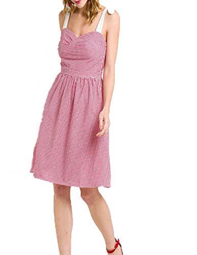Naf Naf VIVI Red Dress for Women. - Red - 8