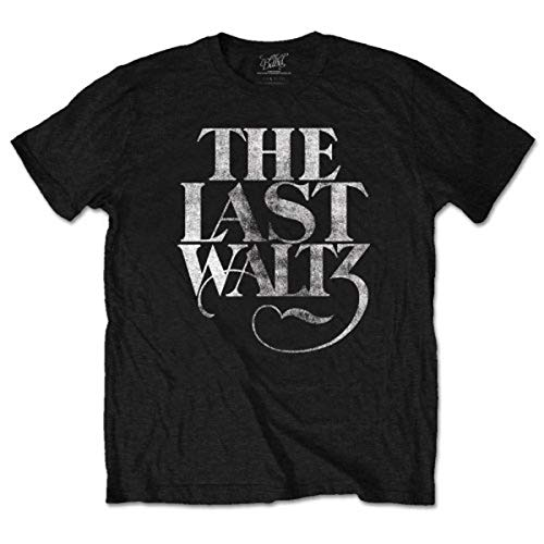 The Band The Last Waltz T-Shirt, Noir-Noir, Large Homme
