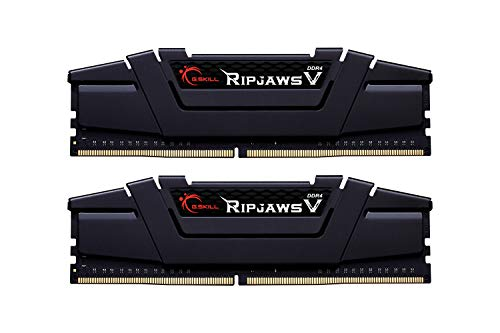 G.Skill 32GB DDR4 PC4-28800 3600MHz Ripjaws V for Intel CL16 (16-19-19-39) Dual Channel kit (2x16GB) Black