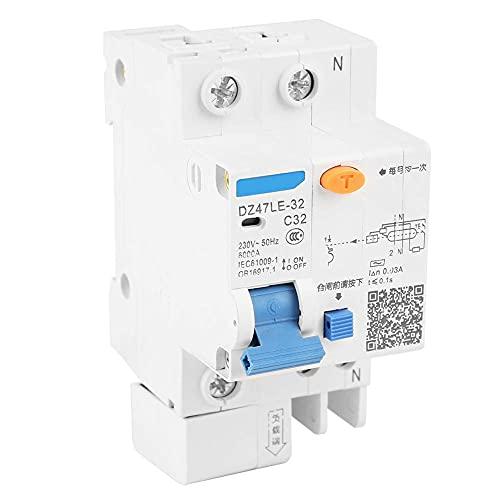 Dz47Le-32 1P + N C32 Rccb El Interruptor Automático de Corriente Diferencial...