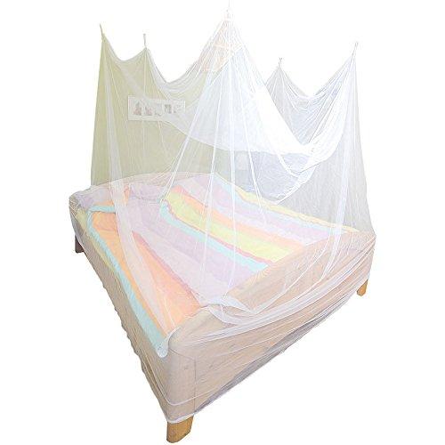 infactory Reisemoskitonetz: Reise-Moskitonetz für Doppelbetten (2 x 2 x 2 m), 280 Mesh (Moskitonetze für Betten)