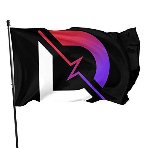 Oaqueen Banderas Dr Lupo Decorative Home Outdoor Flag3' X 5'