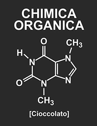 Chimica Organica [Cioccolato]: Quaderno Con Esagoni Medi Per Chimica Organica, Formato A4, 110 Pagine