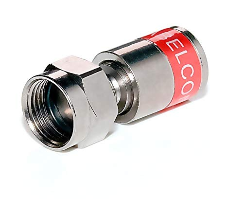 8 Stück - Cabelcon F-Stecker/F-Kompression-Stecker 4.3mm Cabelcon CX3 4.0