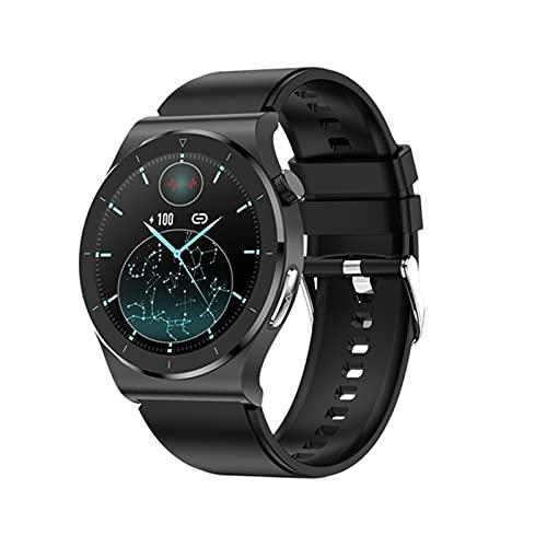 E20 Sports Smart Watch para Medir La Temperatura Y La Presión Arterial Monitor De Oxígeno Muñeca Bluetooth Smart Watch para Android iOS,C