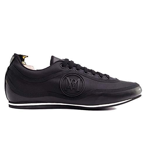 Manuel Reina - Zapatos de Baile Latino Hombre Urano Black - Bailar Bachata y Salsa - Zapatos de Salsa - Ataca y la Alemana