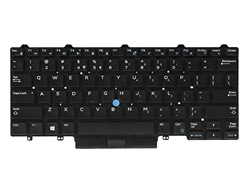 Laptop toetsenbord voor de Dell Latitude E5450 E5470 E5480 E7450 E7470 E7480
