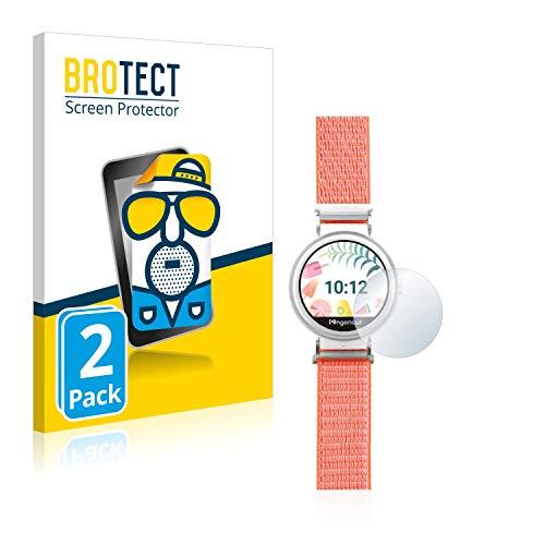 BROTECT 2X Entspiegelungs-Schutzfolie kompatibel mit Pingonaut Puma Bildschirmschutz-Folie Matt, Anti-Reflex, Anti-Fingerprint