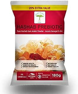 HASHAB PREBIOTIC - E414 Acacia Senegal - Pure Gum Arabic Powder - Acacia Fiber