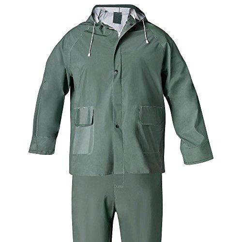 WOLFPACK LINEA PROFESIONAL 15010008 Traje de Agua Impermeable Verde Pvc Talla 8-XL
