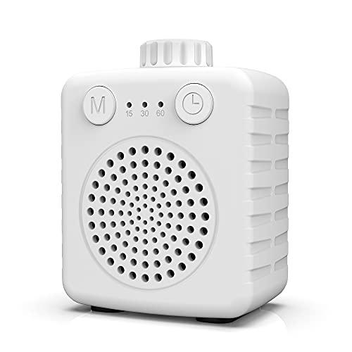 Máquina ruido blanco bebés, White Noise Machine para dormir bebés adultos, Fansben Super Mini Maquina de ruido blanco con 13 sonidos relajantes, volumen ajustable para viajes en casa y oficina