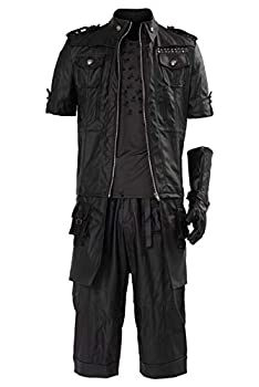 SIDNOR Final Fantasy FF15 XV Noctis Lucis Caelum Noct Jacket Hoodie Cosplay Costume Outfit Black