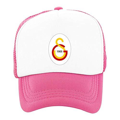 YOUTHTHY Galatasaray Sport Kulubu FC Logo, lustige verstellbare Mütze, Baseball-Trucker Cap für Jungen und Mädchen Gr. One Size, Rose