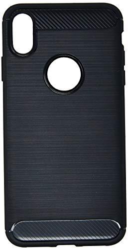 Capa Carbon Fiber para Iphone XS Max, iWill, Preta