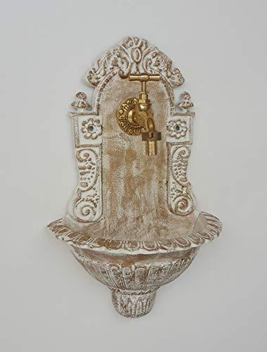 stilarts Wandbrunnen Waschbecken Becken Garten antik Bassena Vintage 39 cm