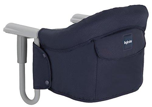 Inglesina AY90G5MAR Tischsitz passend für fast alle Tische Ihr Kind kann mit Ihnen ganz normal am Tisch sitzen, Blau (Marine)
