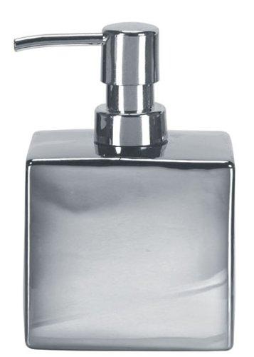 Kleine Wolke 5065124854 Glamour Seifenspender, Silber