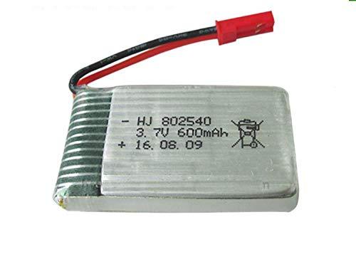 wangxiaoping 2 unids/Lote JXD-509 JXD-509G JXD-509W 510 FX085 C2 RC Quadcopter 3.7V 600mAh batería de polímero de Litio