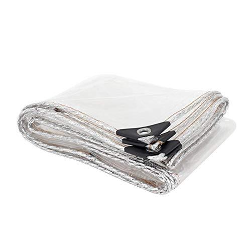 Heavy-Duty PVC Transparante dekzeilen Dikke Waterdichte Multi-Purpose dekzeilen met UV-bescherming voor bekledingen voor Bloeiende Planten in kassen (Afmetingen: 1.6 × 4 m) 0.6×3m