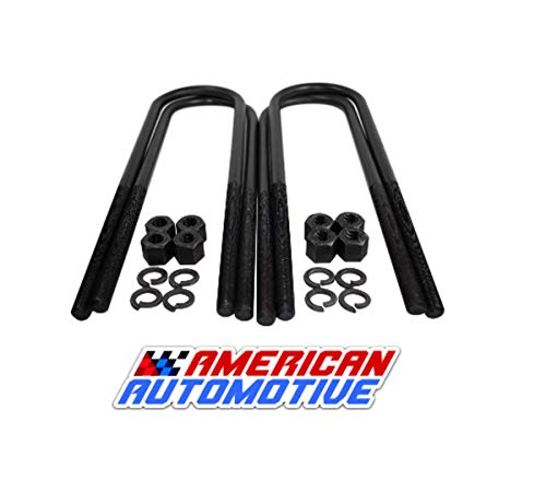 American Automotive Round U Bolt kit for 1999+ F250 F350 Super Duty 17' Extra...