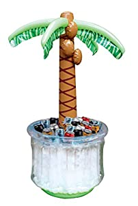 """JOYIN 60"""" Inflatable Palm Tree Cooler, Beach Theme Party Decor, Party Supplies for Pool Party and Beach Party by Joyin Inc"""