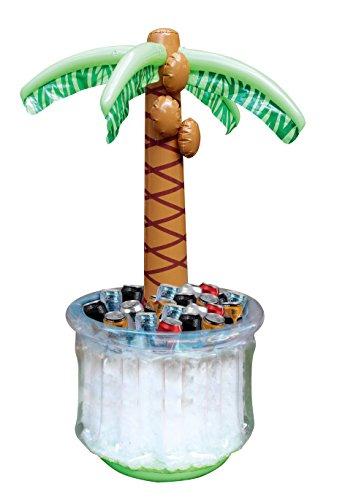 JOYIN 150CM Enfriador De Bebidas Inflables De Palmera, para Fiesta Playa decoración Piscina