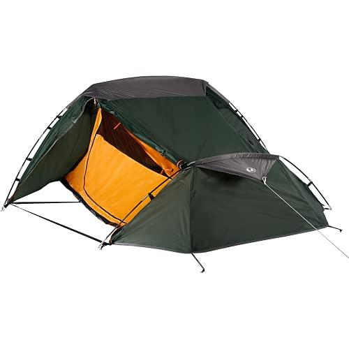 Ultrasport Campingtält perfekt tält för festival, camping och trekking, levereras med bärväska, med UV-skydd och myggnät, vattenpelare upp till 1 000 mm, ca 2,33 x 1,88 m x 1,00 m