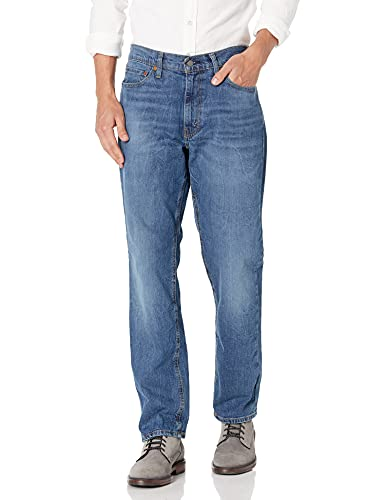 Levi's 541 Athletic Fit Jean Jeans, Piedra Negra: elástica, 40W/30L para Hombre