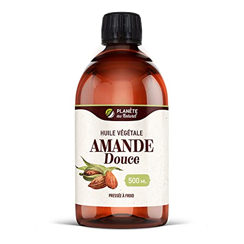 Huile d'Amande Douce - 500 ml - Cosmos Natural -...