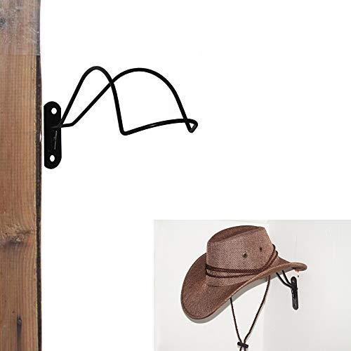 Titolare cappello da cowboy/cappello da cowboy rack da appendere alla parete decorazione rustico/da uomo e da donna, stile western cowboy/cowgirl cappello di paglia Cap Storage display Holder rack