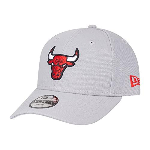 New Era Gorra infantil 9Forty ajustable, equipo de la NBA NFL, Unisex niños, Chicago Bulls - Zapatillas de deporte, color, 54-56
