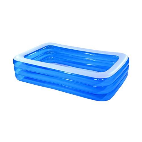 I will take action now Aufblasbares Schwimmbecken Baby-Wasserballbecken Aufblasbares Spielbecken Großer Haushalt Kleinkinder Planschbecken Erwachsenenswimmingpool (Size : B)