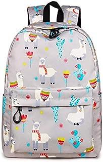 TOOGOO Animal Backpack 3D Print Cute Flower School Backpack for Teenage Girls Laptop Travel Rucksack Sky Blue