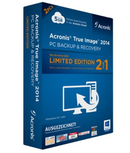 Acronis True Image 2014 2 PCs