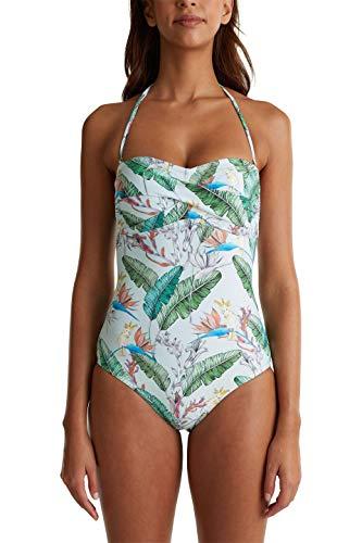 ESPRIT wear Damen Lilian Beach Padded Swimsuit leger Badeanzug, 390, 42