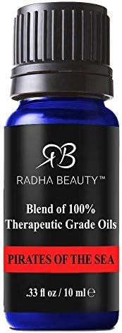Radha Beauty Pirates of the Sea Blend 10ml Clove Cinnamon Lemon Rosemary and Eucalyptus Promotes product image