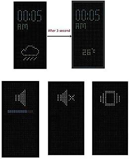 حافظة عرض منقطة لاجهزة اتش تي سي ون M8 /اسود