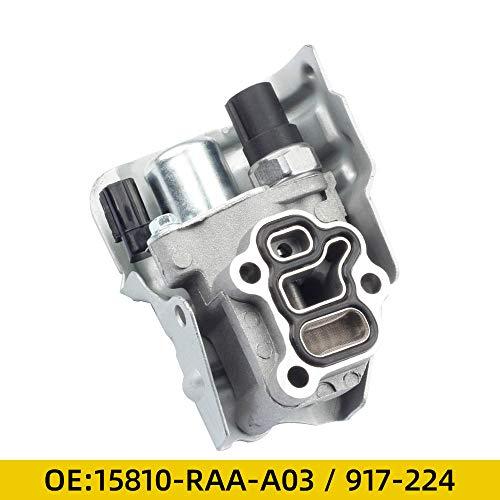 Dasbecan VTEC Solenoid for Honda Acura Accord Civic CR-V Element RSX 15810-RAA-A02, 15810RAAA02, 15810RAAA03, 15810-RAA-A01, 917224