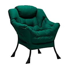 This chair is a wonderful addation to any rooms such as living room,bedroom and so on.Perfectly match with your furnitures,which brings a sense of modern to your home decor Comfortable seats and armrests creat a comfortable seating experience,so that...