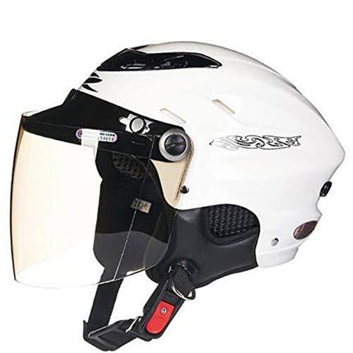 Cascos de motocicleta, cascos de bicicleta, casco todoterreno de la motocicleta casco de descenso, casco todoterreno casco de carreras blanco 2