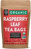 Organic Red Raspberry Leaf Tea Bags | 100 Tea Bags | Eco-Conscious Tea Bags in Kraft Bag | Raw from Germany | by FGO