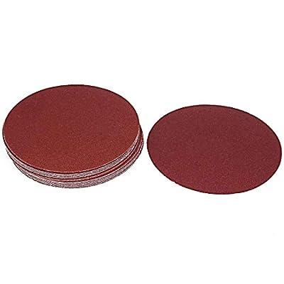 Rannb 80 Grit Sanding Discs 7-inch Hook and Loop Sanding Discs - 20pcs