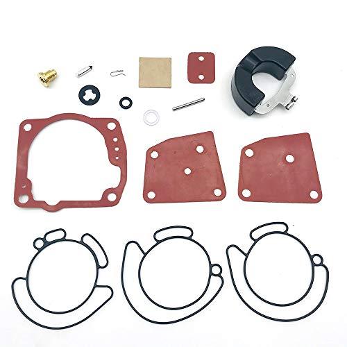 Kit de reparación de carburador de Suministro de c Kit de reparación de carburador para Evinrude Johnson V4 V6 90 115 125 150 175HP para Motores V4 V6 60 Grado Eagle Motores 1300-08689