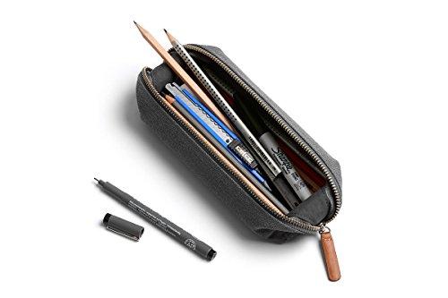 Bellroy Pencil Case Pennenmapje Pennenetui met ritssluiting voor pennen en kabels Mini mid grey