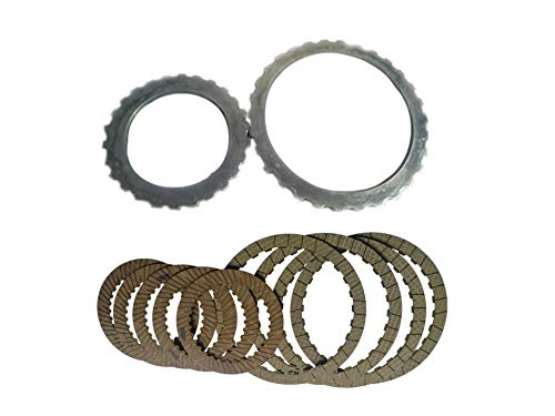 DQ250 DSG 02E Auto Transmission Clutch Friction Plate And Steel sheet plate kit