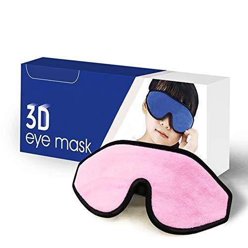 Mega Softe Schlafmaske für Kinder (1 Stk.) I Augenmaske für Mädchen und Jungen I Zu 100 {1e34717a3b23ed7e03f7cd6b68fbf9ef57ace0424daa04c5228cfe43d4ffd53e} Lichtundurchlässige I Atmungsaktiv & Schadstofffrei